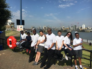 8B visit the Thames Barrier after learning about the River Thames