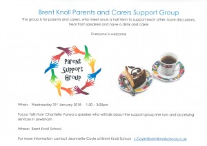Parent Support Group January 31st